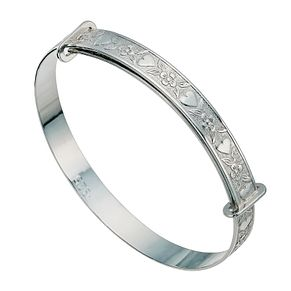 Children's silver expander bangle - Product number 9633243