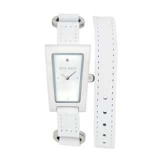 Nina Ricci Ladies' Stainless Steel Rectangle Watch - Product number 9649778