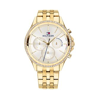 Tommy Hilfiger Ladies' Gold Plated Bracelet Watch - Product number 9649980