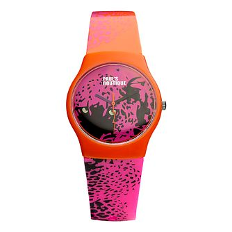 Paul's Boutique Ladies' Printed Strap Watch With Logo Dial - Product number 9650822