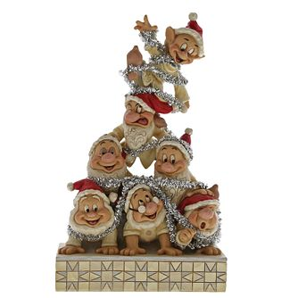 Disney Traditions Stacked 7 Dwarfs Christmas Decoration - Product number 9658521
