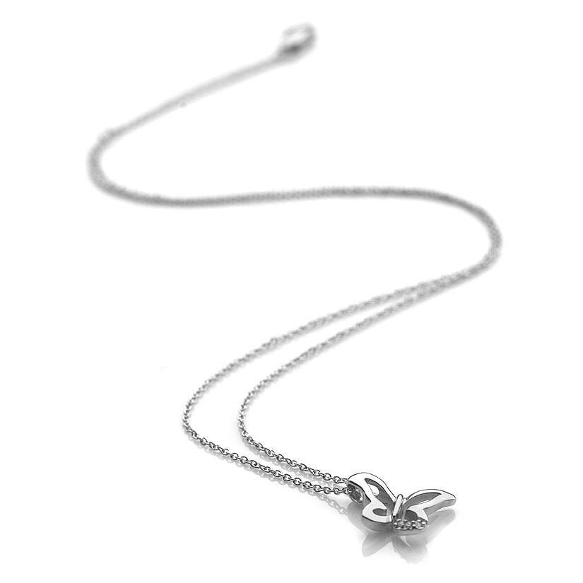 Diamond necklaces diamond pendants ernest jones hot diamonds flutter pendant product number 9660100 aloadofball Images