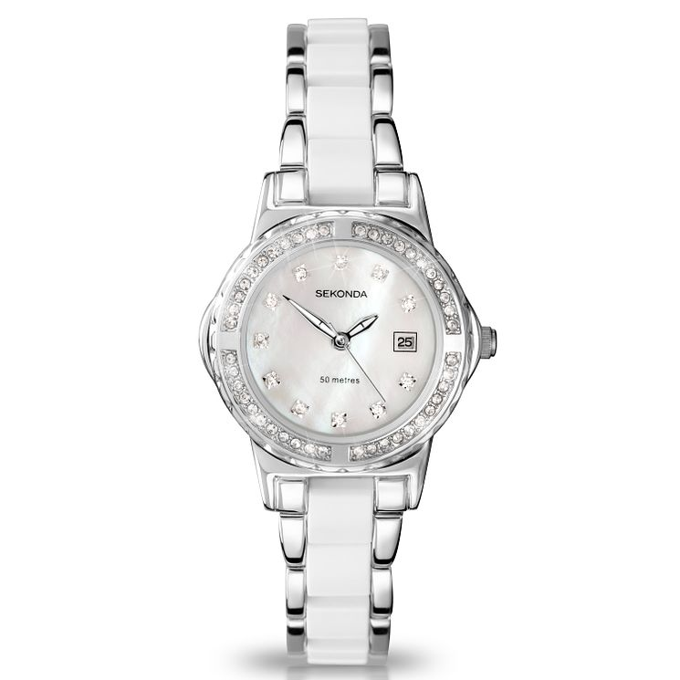 Sekonda Ladies' Two Colour Bracelet Watch - Product number 9660623