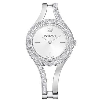 Swarvoski Eternal Ladies' Silver Tone Bracelet Watch - Product number 9662936