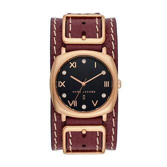 Marc Jacobs Mandy Ladies' Ion Plated Strap Watch - Product number 9663010