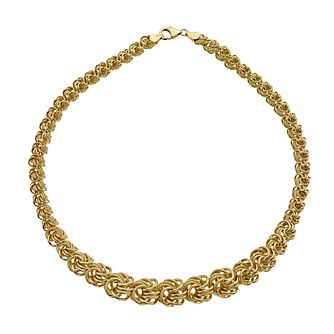 "Together Bonded Gold 17"" Swirl Collerette - Product number 9690263"