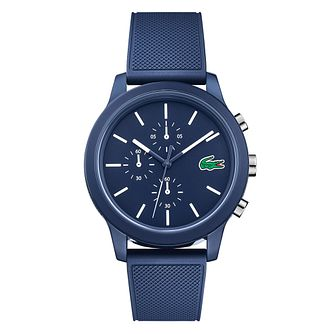 Lacoste 12.12 Gents Blue Silicone Strap Watch - Product number 9691359