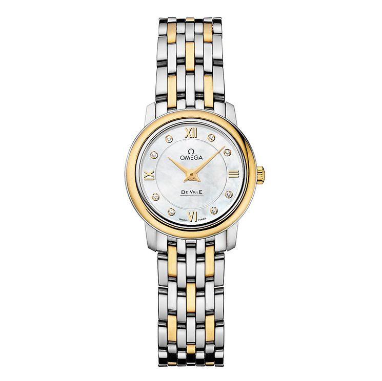 Omega De Ville Prestige Quartz ladies' bracelet watch - Product number 9705201