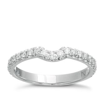Neil Lane 14ct white gold 0.33ct diamond band - Product number 9705546
