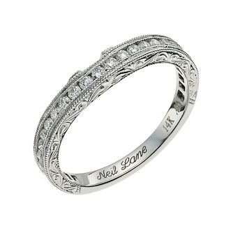 Neil Lane 14ct white gold 0.45ct round diamond band - Product number 9706585
