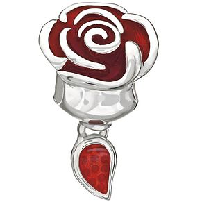 Chamilia Beauty and the Beast Belle Rose Bead - Product number 9723781