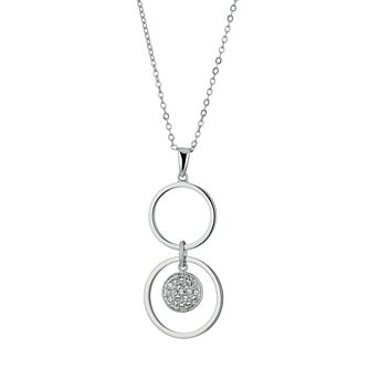 Radiance With Swarovski Crystal Circle Drop Pendant - Product number 9724850