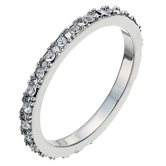 Radiance With Pave Set Swarovski Crystal Elements Ring P - Product number 9724931