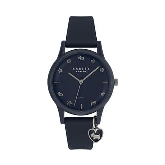 Radley Ladies' Blue Dial Blue Leather Strap Watch - Product number 9734104