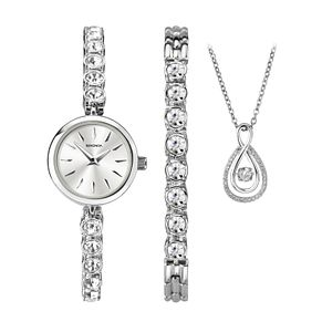 Sekonda Crystal Bracelet Watch, Pendant & Bracelet Set - Product number 9734309