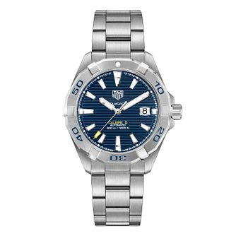 TAG Heuer Stainless Steel Aquaracer Blue Bracelet Watch - Product number 9735178