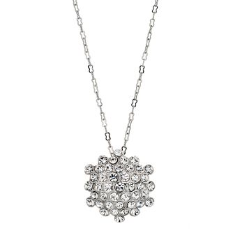 Crystal Cluster Pendant Necklace - Product number 9740880
