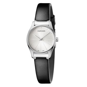 Calvin Klein Ladies' Classical Black Strap Watch - Product number 9743847