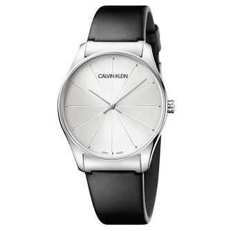 Calvin Klein Men's Classical Black Strap Watch - Product number 9743928