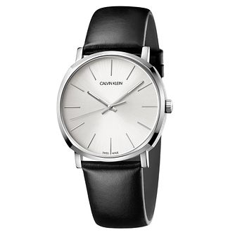 Calvin Klein Posh Men's Black Strap Watch - Product number 9743944