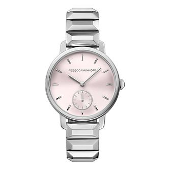 Rebecca Minkoff BFFL Ladies' Silver Tone Bracelet Watch - Product number 9744827