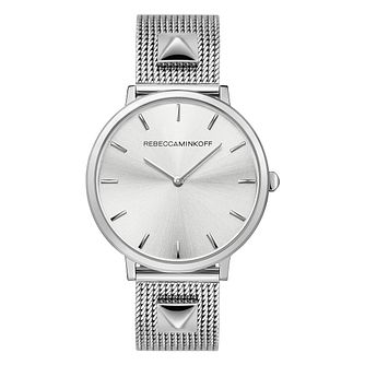 Rebecca Minkoff Major Ladies' Silver Tone Bracelet Watch - Product number 9745254