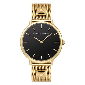 Rebecca Minkoff Major Ladies' Gold Tone Bracelet Watch - Product number 9745297