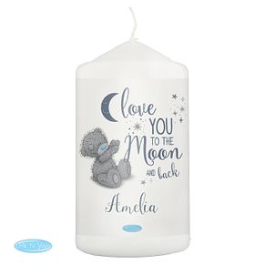 Personalised Me to You Moon and Back Pillar Candle - Product number 9746269