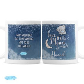 Personalised Me to You Moon and Back Mug - Product number 9746277