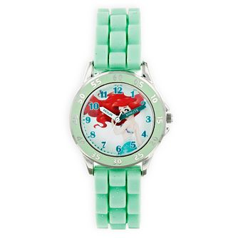 Disney Ariel Green Rubber Strap Time Teacher Watch - Product number 9751971