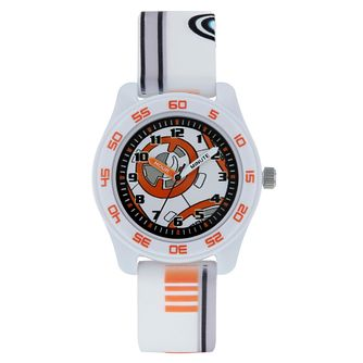 BB8 White Case White Strap Time Teacher Watch - Product number 9752021