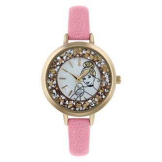 Disney Cinderella Pink PU Strap Watch - Product number 9752110