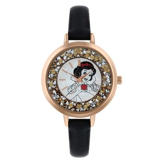 Disney Snow White Black PU Strap Watch - Product number 9752129