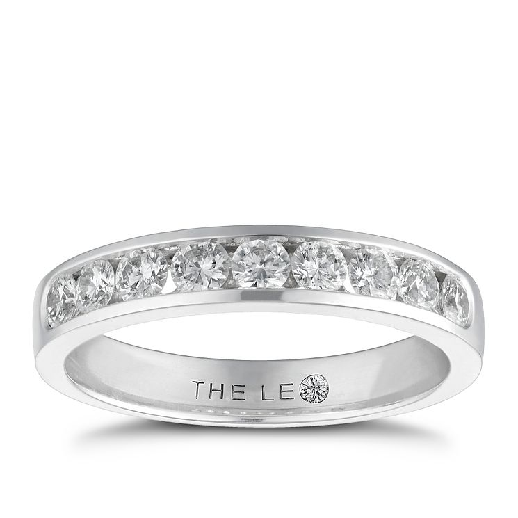 Leo Diamond18ct white gold 0.50ct I-I1 eternity ring - Product number 9756019