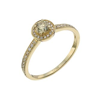 Le Vian 14ct gold 0.40 ct diamond & Chocolate Diamond ring - Product number 9758038