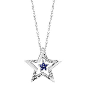 Ever After Disney Pinocchio Wish Upon A Star Pendant - Product number 9773401