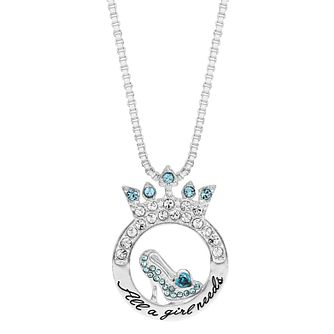 Ever After Disney Cinderella Glass Slipper Necklace - Product number 9773428