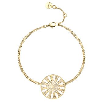 Ever After Disney Gold Plated Belle Lumiere Bracelet - Product number 9773851