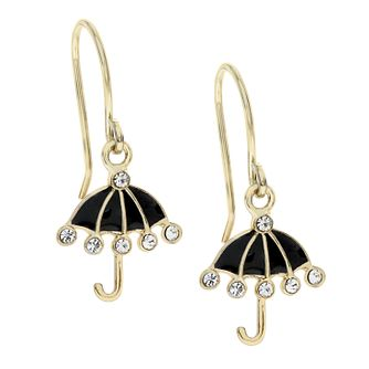 Ever After Disney Gold Plated Mary Poppins Umbrella Earrings - Product number 9774130