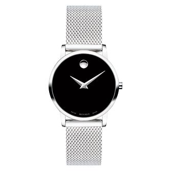 Movado Ladies' Museum Classic Stainless Steel Bracelet Watch - Product number 9774262