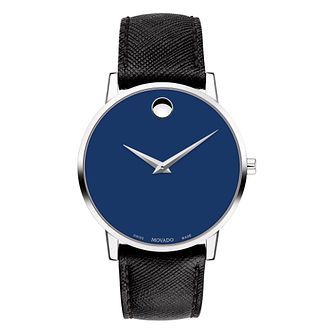 Movado Men's Stainless Steel Museum Classic Strap Watch - Product number 9774351