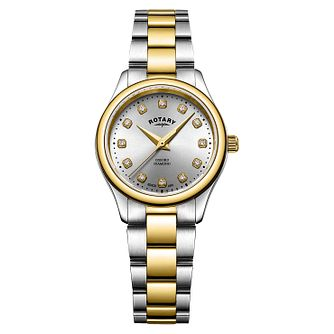 Rotary Oxford Diamond Ladies' Two-Tone Bracelet Watch - Product number 9774467