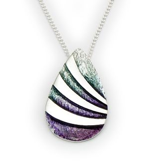 Ortak Silver Hot Glass Enamel Pendant - Product number 9779019