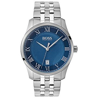 Hugo Boss Stainless Steel Blue Bracelet Watch - Product number 9779876