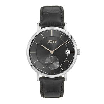 Hugo Boss Men's Corporal Black Strap Watch - Product number 9779884