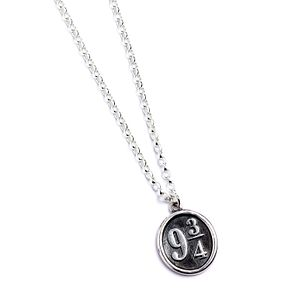 Harry Potter Sterling Silver Platform 9 3/4 Necklace - Product number 9781242