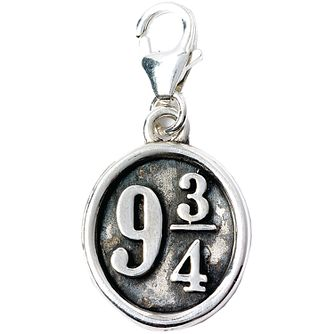 Harry Potter Sterling Silver Platform 9 3/4 Charm - Product number 9781390