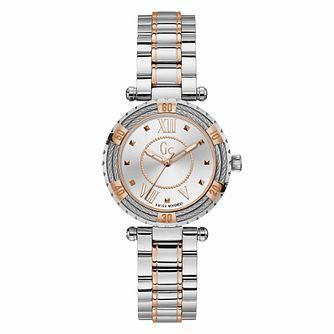 Gc Ladydiver Ladies' Two-Tone Bracelet Watch - Product number 9783881