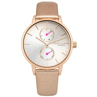 Daisy Dixon Mia Rose Leather Strap Watch - Product number 9784640