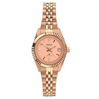 Sekonda Rose Gold Stainless Steel Bracelet Watch - Product number 9784802